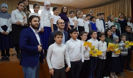 Презентация онлайн-школы «Дом Знаний» прошла в махачкалинской СОШ №42